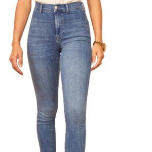Reformation Darwin May High & Skinny Jeans